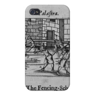 The Fencing School iPhone 4 Cases