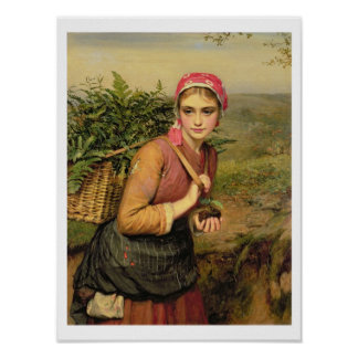 The Fern Gatherer Poster