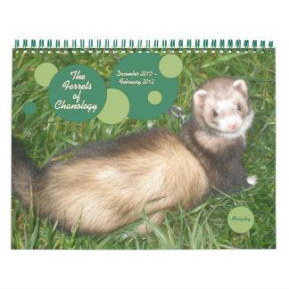 The Ferrets of Chanology Wall Calendar