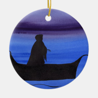 The Ferryman Ceramic Ornament