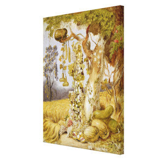 The Fertility of the Earth Canvas Print