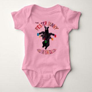 THE FESTER BUNNY BABY BODYSUIT