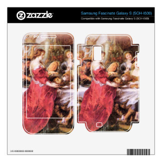 The festival of Herod by Paul Rubens Samsung Fascinate Decal