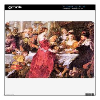 The festival of Herod by Paul Rubens Skins For MacBook