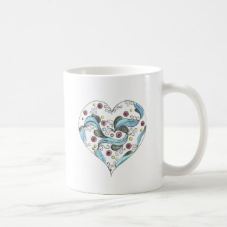 The Festooned Heart Coffee Mug