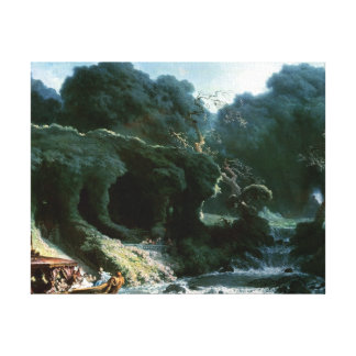 The Fete at Rambouillet Canvas Print