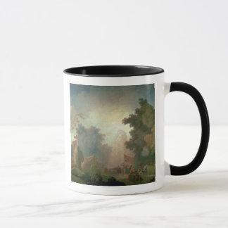 The Fete at Saint-Cloud (oil on canvas) (for detai Mug