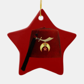 The Fez Christmas Ornament