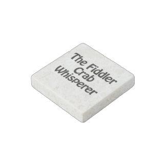 the fiddler crab whisperer stone magnet