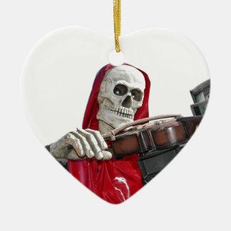 The Fiddler - Death Mug Ceramic Ornament