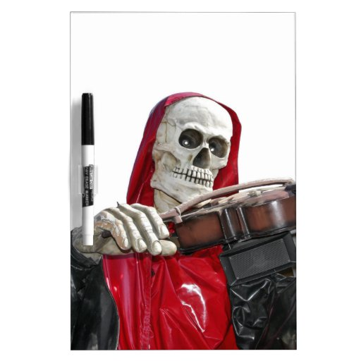 The Fiddler - Death Mug Dry-Erase Board