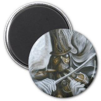 The Fiddler 2 Inch Round Magnet