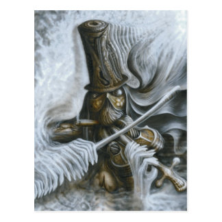 The Fiddler Postcard