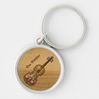 The Fiddler Violin Keychain