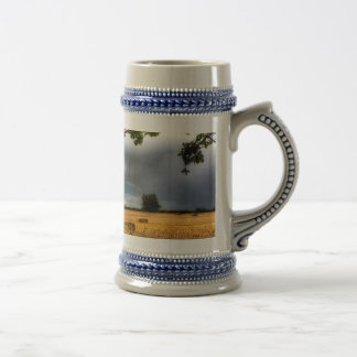 The Field Beyond The Tree Beer Stein