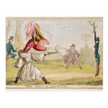 The Field of Battersea, 1829 Postcard