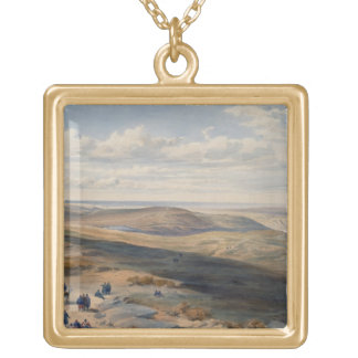 The Field of Inkerman, plate from 'The Seat of War Gold Plated Necklace
