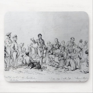 The Field Preacher, 1837 Mouse Pad