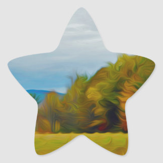 The Field Star Sticker