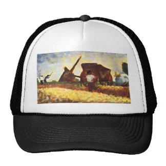 The field worker by Georges Seurat Trucker Hat