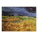 The Fields by Vincent van Gogh Stationery Note Card