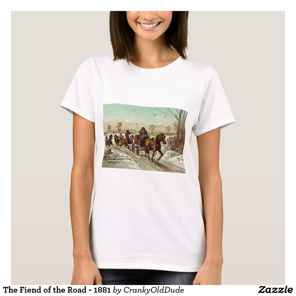 The Fiend of the Road - 1881 T-Shirt - Best Selling Long-Sleeve Street Fashion Shirt Designs