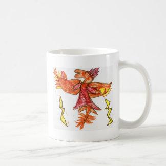 The Fiery Draggy Classic White Coffee Mug