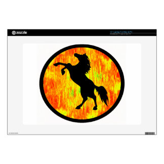 """THE FIERY ONE DECAL FOR 15"""" LAPTOP"""