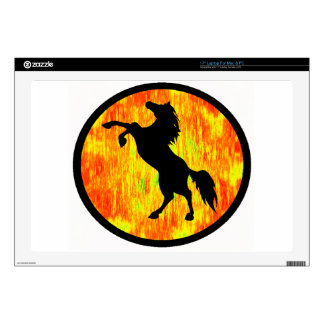 """THE FIERY ONE DECALS FOR 17"""" LAPTOPS"""