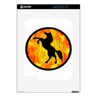 THE FIERY ONE SKIN FOR THE iPad 2