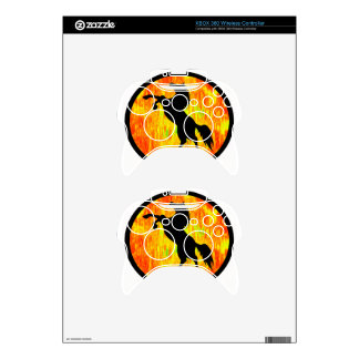 THE FIERY ONE XBOX 360 CONTROLLER SKINS