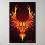 The Fiery Phoenix Print