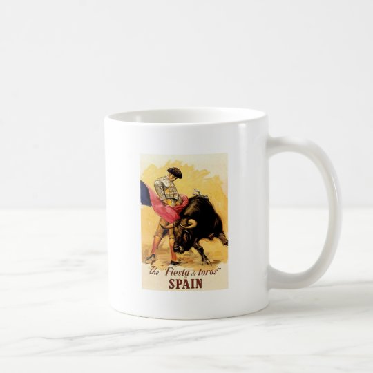 The Fiesta De Toros In Spain Coffee Mug