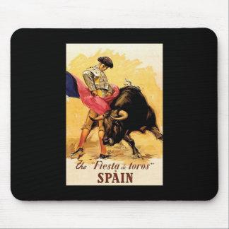 The Fiesta De Toros In Spain Mouse Pad