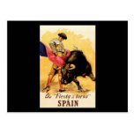 The Fiesta De Toros In Spain Postcard
