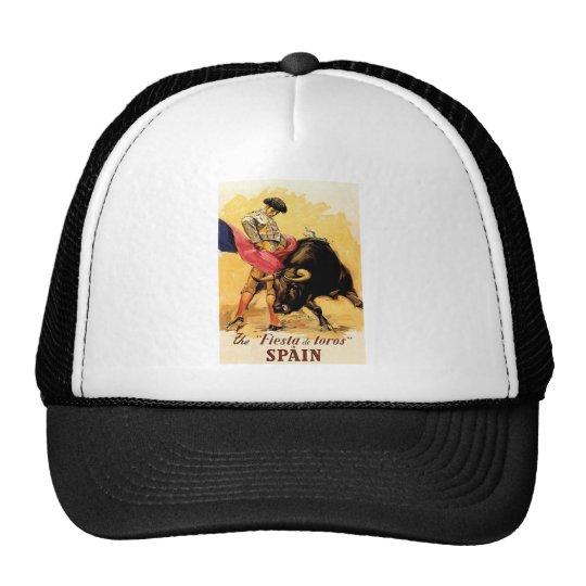 The Fiesta De Toros In Spain Trucker Hat