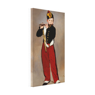 The Fifer by Manet Canvas Print
