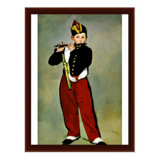The Fifer By Manet Edouard Postcards