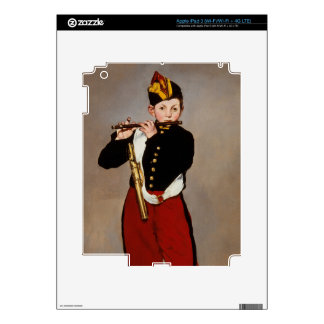 The Fifer- flute Playert by Monet Decals For iPad 3