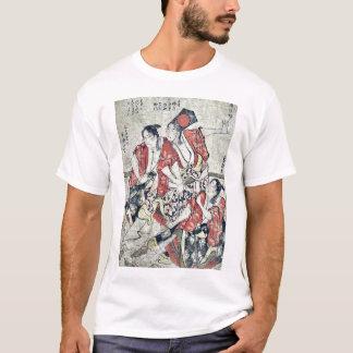 The fifth month by Katsushika, Hokusai Ukiyoe T-Shirt