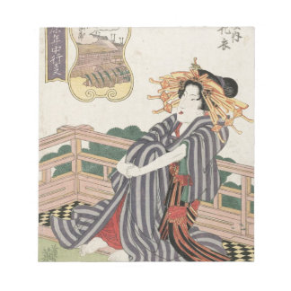 The Fifth Month, Hanagoromo of the Wakanaya Keisai Note Pad