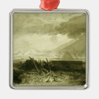 The Fifth Plague of Egypt, 1806-10 Christmas Ornament