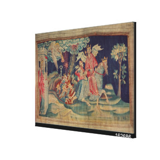 The Fifth Trumpet and the Locusts Canvas Print