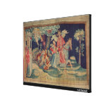 The Fifth Trumpet and the Locusts Canvas Prints