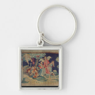 The Fifth Trumpet and the Locusts Keychain