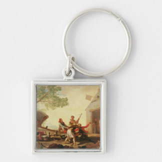 The Fight at the Venta Nueva, 1777 Keychain