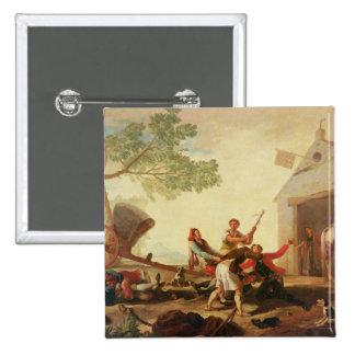The Fight at the Venta Nueva, 1777 Pinback Button
