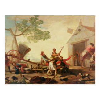 The Fight at the Venta Nueva, 1777 Postcard