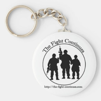The Fight Continues Products Keychain