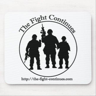 The Fight Continues Products Mouse Pad